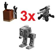 LEGO star wars bulk 3x AT-AT mounted gun canon & weapons rack BULK BN