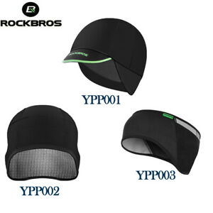 ROCKBROS Winter Cycling Fleece Thermal Cap Windproof Hat & Earmuffs Out Sports