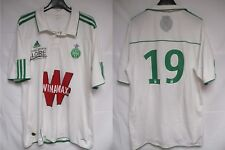 Maillot A.S SAINT-ETIENNE n°19 2012 ADIDAS away shirt trikot les VERTS maglia L