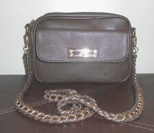 XXI Forever 21 Womens Crossbody / Shoulder Bag Dark Sage Green Satchel Purse