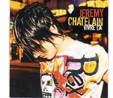 Jérémy Chatelain - Vivre Ça - Promo CDS - 2003 - Pop Rock Chanson