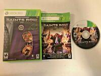 Saints Row IV (Microsoft Xbox 360, 2013) - GAME DISC, CASE, & CODE (SEE DESC.)