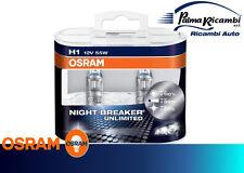 BOMBILLAS COCHE OSRAM H1 12V 55W NOCHE BREAKER UNLIMITED COD64150NBU