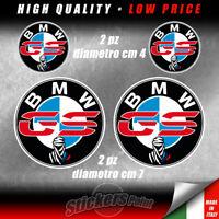 4 adesivi BMW DAKAR GS  R 1200 1250 800 moto stickers -  BMW00004M