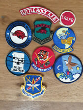 USAF patch set MIX of 9 USAF patches See other sets