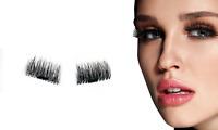 New 4 Pairs Magnetic Eyelashes Reusable Magnet False Eye Lashes Triple Extension