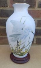 FRANKLIN PORCELAIN The Marshland Bird Vase - Basil Ede