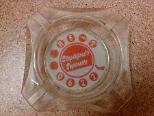 old vintage ashtray Stapleford's Superette HE2O622 avertising Appleton Wisconsin