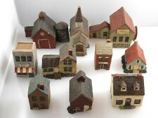 Vintage Sarah's Attic Granny's Favorites Village Figurines - Holiday - Christmas