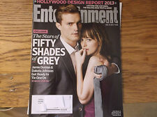Entertainment Weekly Magazine 11/22/13 FIFTY SHADES OF GREY Dornan Johnson RARE
