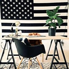 USA Flag Indian Bedspread Decor Hippie Mandala Tapestry Wall Hanging Auction