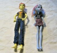 Monster High Home Ick 2-pack Abbey Bominable and Heath Burns Dolls