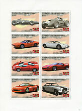 St Vincent & The Grenadines 2007 MNH Ferrari Classics 8v M/S Cars F40 Spider