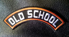 old school Rocker embroidered 3.75 x 1.0 mc Biker patch