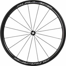 Shimano WH-R9100-C40-TU Dura-Ace wheel, Carbon tubular 40 mm, front Q/R