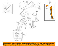 TOYOTA OEM 12-16 Yaris Fender-Protector/Bracket/Support Left 5382852160