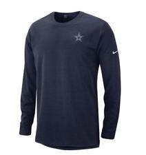 Dallas Cowboys Men's Nike Sideline Modern Crew Neck Sweatshirt - Navy
