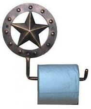 Star Toilet Paper Holder Bathroom Western Decor Texas Country Wall Mounted New