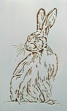 Rabbit Wild Rabbit Stencil/Template Reusable 10 mil Mylar