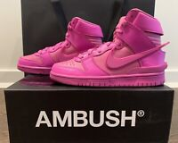 AMBUSH  X  NIKE Dunk High's - Fuchsia - Men's US 6 / Women's US 7.5