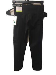 """Champion  Women's Black Embrace Training High-Rise 20"""" Capri Pants New XS"""