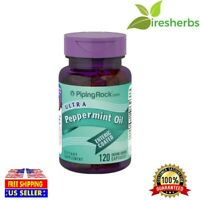 #1 BEST ULTRA PEPPERMINT OIL ENTERIC COATED DIGESTIVE SUPPLEMENT 50mg 120 CAPS