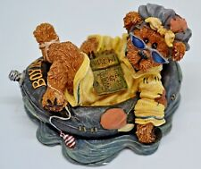 Boyds Bears & Friends The Bearstone Collection ~ Ima Chillin...Takin it Easy MIB