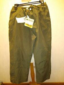 Columbia Capri Pants-Olive Green New w/Tags SZ Med. Drawstring waist