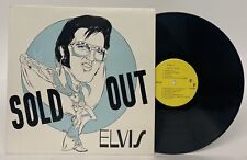 Elvis Presley SOLD OUT LP 1970-74 Live Recordings Unofficial Release RARE VG+