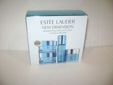 Estee Lauder New Dimension Firm + Fill Eye System Step 1 & 2 Glow Mask & Serum