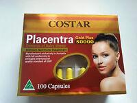 Costar Sheep Placenta 50000mg 100 Capsules Australian Made