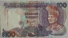 RM100 Ahmad Don sign Note AJ 2477461