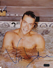 JEAN CLAUDE VAN DAMME AUTOGRAPHED 8 X 10 COLOR PHOTOGRAPH COA OLD PRO GALLERY