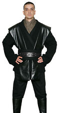 Star Wars Anakin Skywalker Costume Black Jedi / Sith Tunic and Trousers from UK