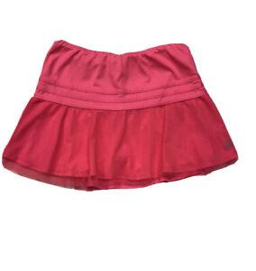 Tennis Skirt Girls Size XL 14/16 adidas Hot Pink Mesh Detail