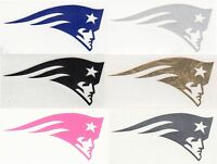 New England Patriots decal sticker up to 12 inches Reflective, Chrome etc RTIC