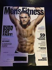 CHARLIE HUNNAM KING ARTHUR MENS Fitness MAGAZINE November 2010 Shirtless RARE