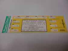 1989 CONCERT TICKET THE ALLMAN BROTHERS POPLAR CREEK HOFFMAN ESTATES IL CHICAGO