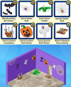 RETIRED 2005+ !!!Pick 3!!! Webkinz Halloween Haunted House Theme Decor