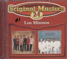 Los Mismos Original Masters 2 en 1 CD New Nuevo sealed
