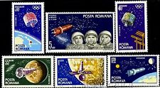 1965 Space,Olympic Satellites SYNCOM,Moon,Ranger 7,Woskhod,TV,Romania,M.2369,MNH