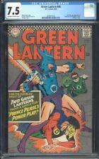 Green Lantern 45 CGC 7.5 OWW Silver DC Comic 2nd GA GL IGKC L@@K