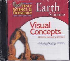 Holt Science & Technology Earth Science Visual Concepts Pc Cd-Rom *New*