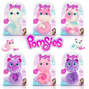 POMSIES INTERACTIVE PETS PLUSH - CHOOSE YOUR DESIGN - POM TALKS & LIGHTS UP