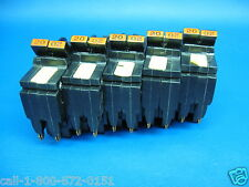 "Nice - 1 - 20A Federal Pacific Fpe 20 Amp Stab-Lok 2 Pole 1"" Breaker Guaranteed"