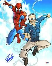 STAN LEE #1 REPRINT AUTOGRAPHED SIGNED PICTURE PHOTO 8X10 SPIDERMAN COLLECTIBLE