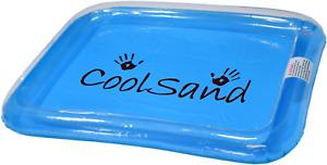 CoolSand Portable Inflatable Sand Box, Moldable Play Sand Tray