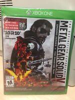 Metal Gear Solid V:  Ground Zeros + The Phantom Pain Xbox One BRAND NEW SEALED!!