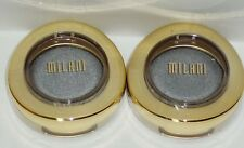 2 Milani Bella Eyes Gel Powder Shimmer Eyeshadows BELLA GRAY #10 Sealed Compact