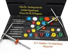 Vintage & Modern Heads Valve Re Seating Tools Kit 40 Pieces Cover